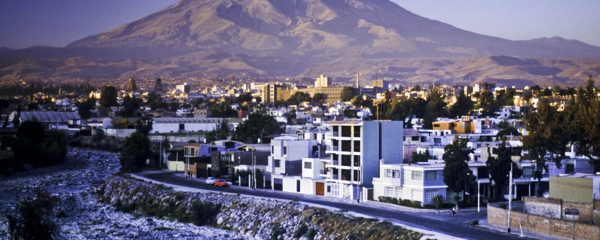 Arequipa, Pérou, et le volcan Misti