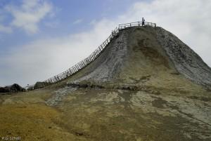 Le volcan de boue Totumo, Colombie