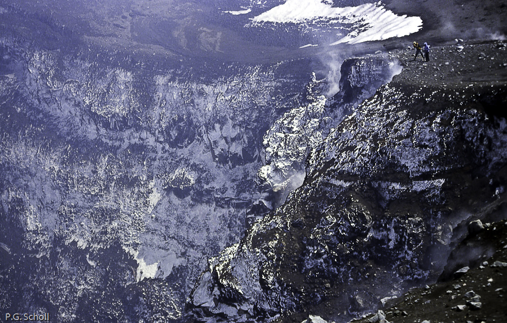 Cratère principal de l'Etna, Italie