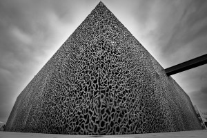La Pyramide du MUCEM, Marseille, France