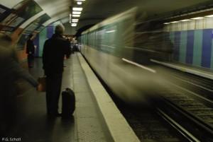 Métro Montparnasse, Paris France.