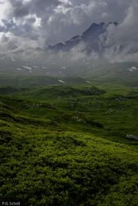 Montagne couverte de Cenis, Savoie, France.