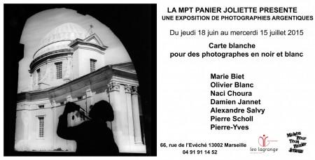 """Exposition """"Carte blanche pour photographes en Noir et Blanc"""""""