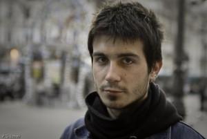 Regard d'un jeune parisien