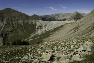 Sommets des hautes Alpes, France