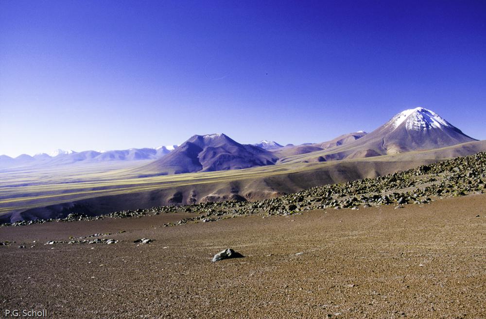 Sur les Flancs du Volcan Lascar, Chili