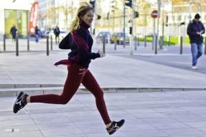 Courrir en ville