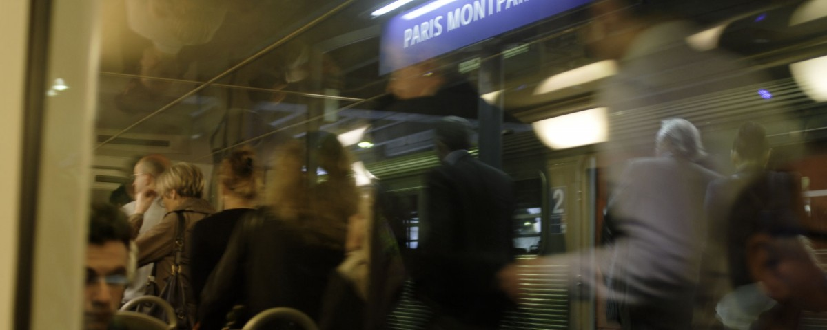 Gare de Montparnasse, Paris, France.