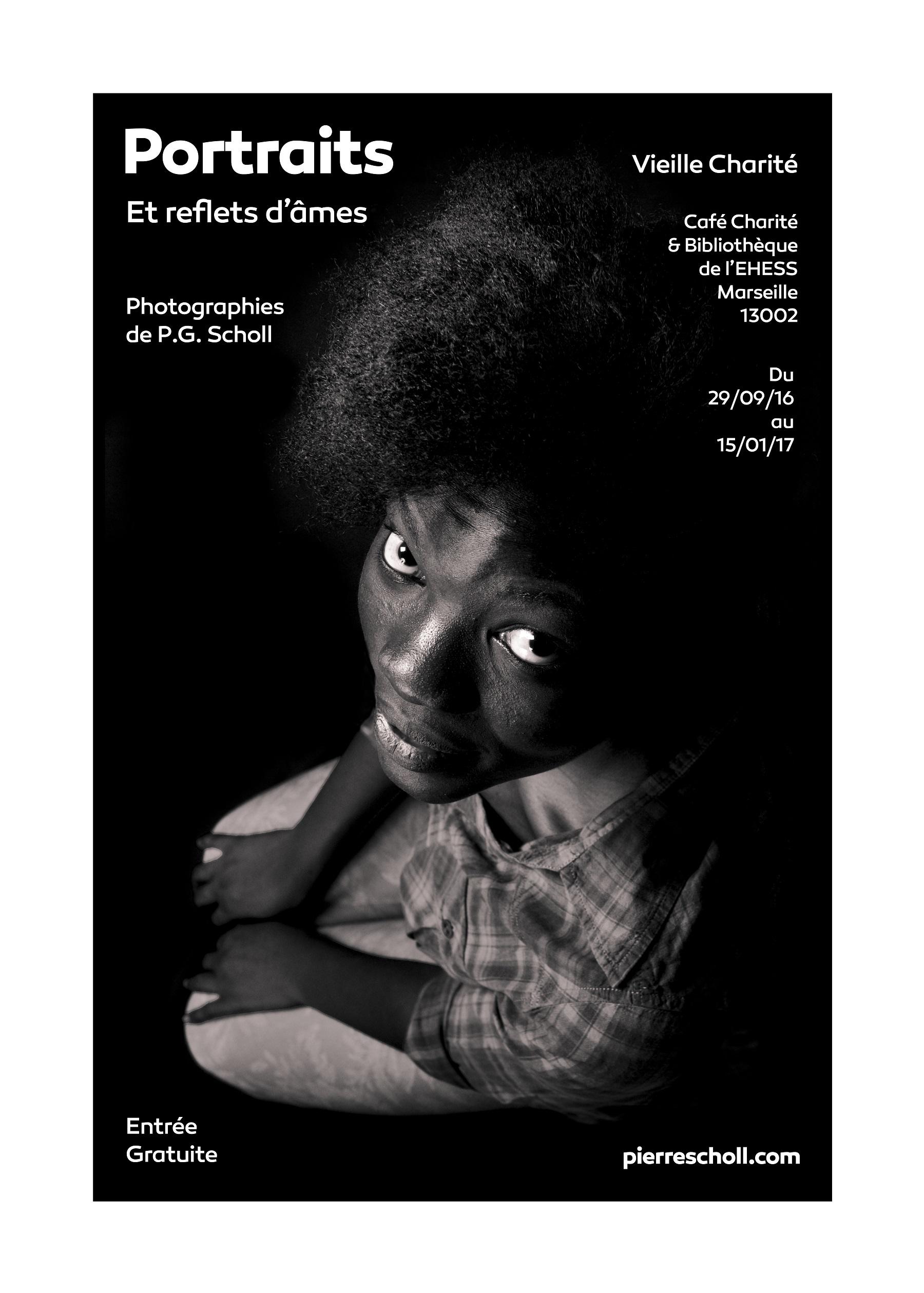 Expositon Portraits et reflets d'âmesPierre Scholl