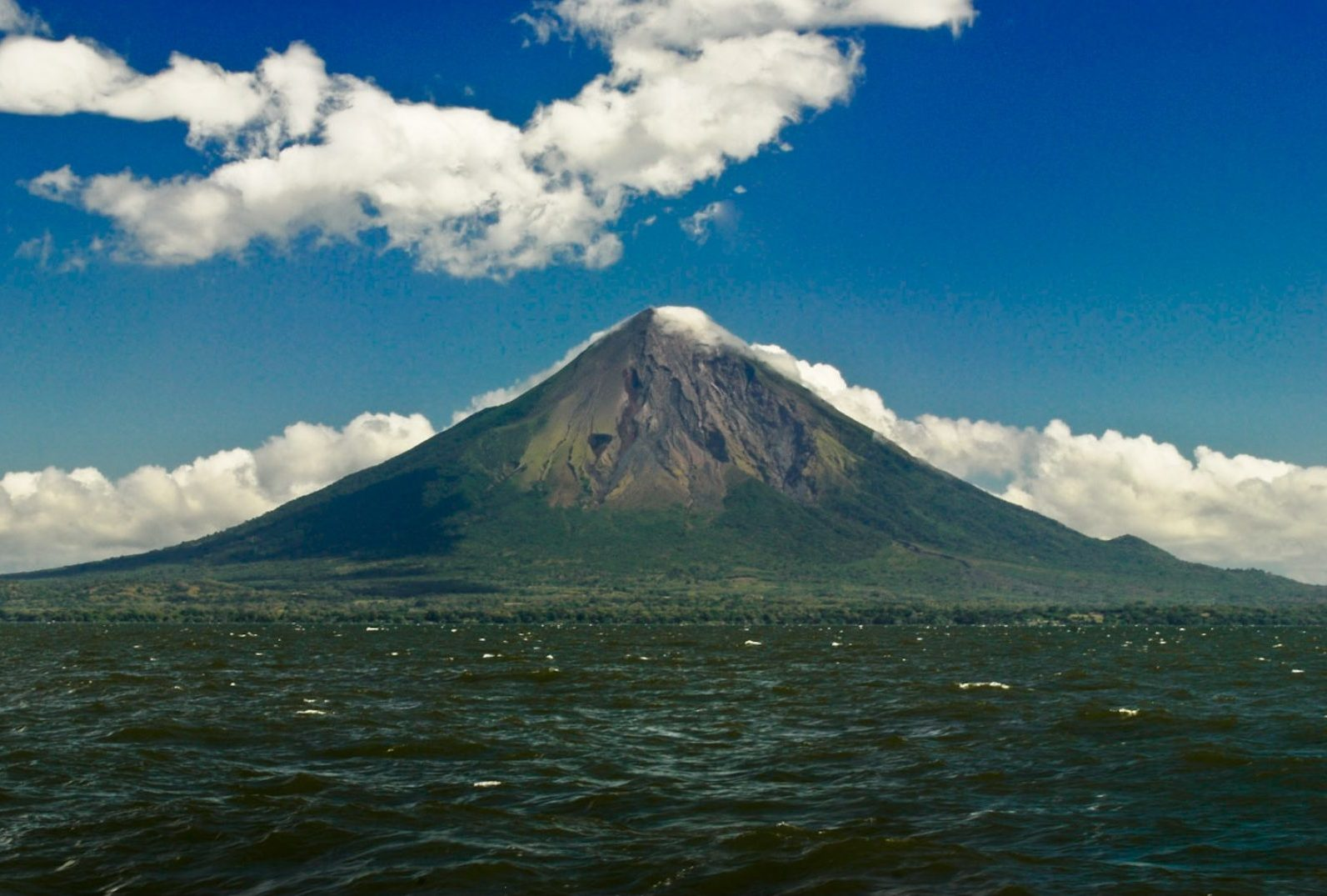 Photographie du Volcan Concepcion