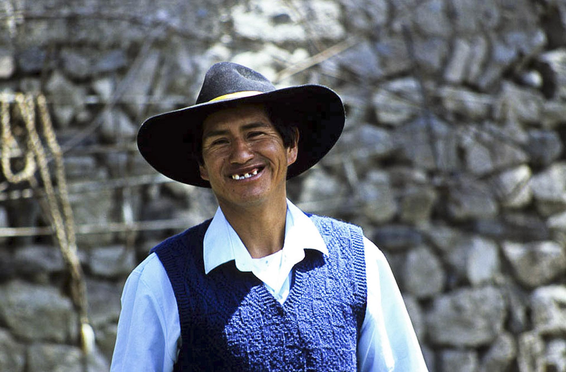 Sourire de Cabanaconde, Pérou.