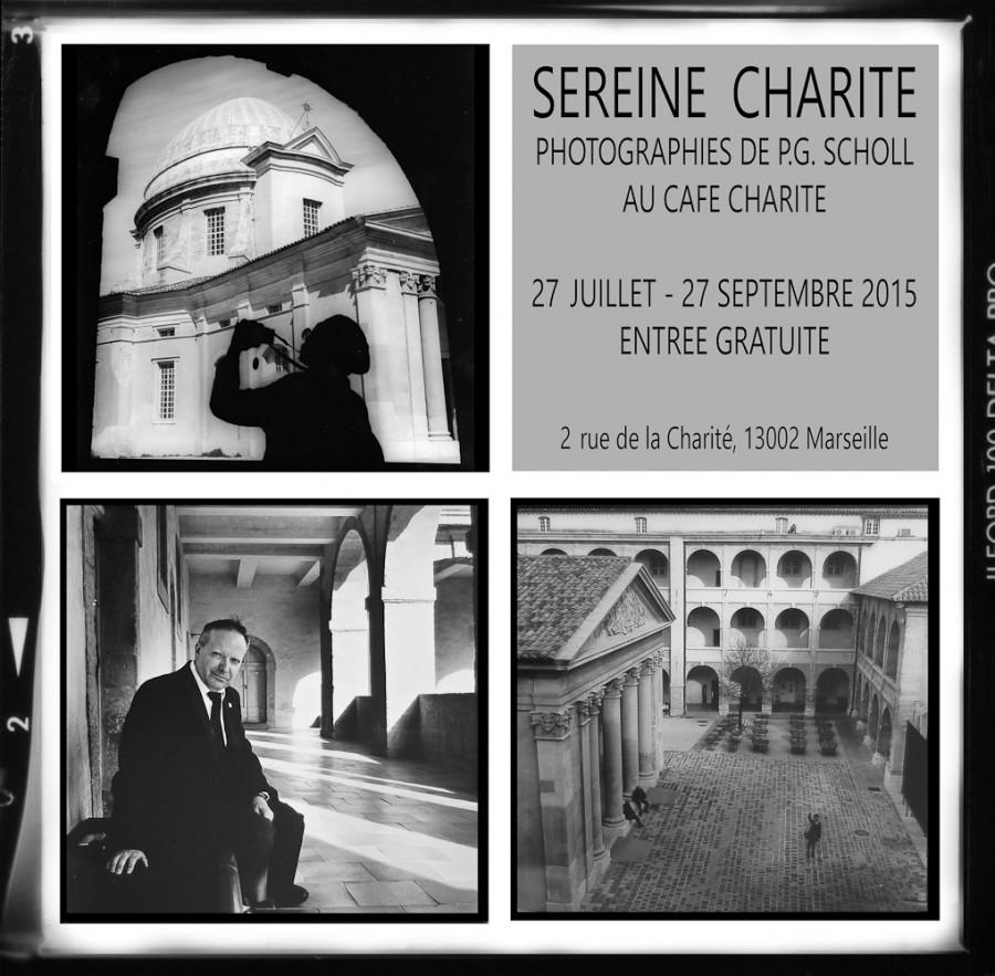 """exposition """"Sereine Charité"""" au Charité Café, Vieille Charité, Marseille"""
