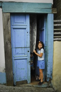 Enfants de Santa Rosa del Cabal, Risaralda, Colombie.