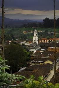 Le village de Salento, Quindio, Colombie.