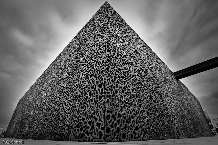 La Pyramide du MUCEM