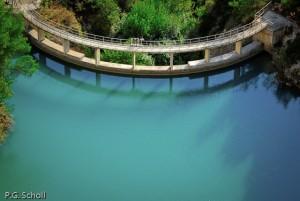 Le barrage de Zola, Auvergne, France