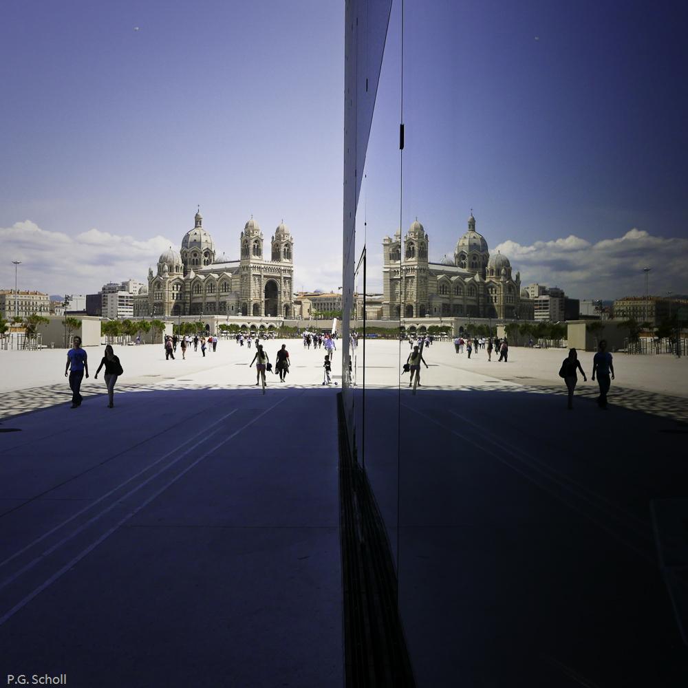 Le Mucem et la Major, Marseille, France.