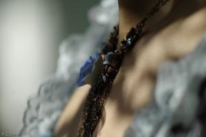 Pendentif bleu