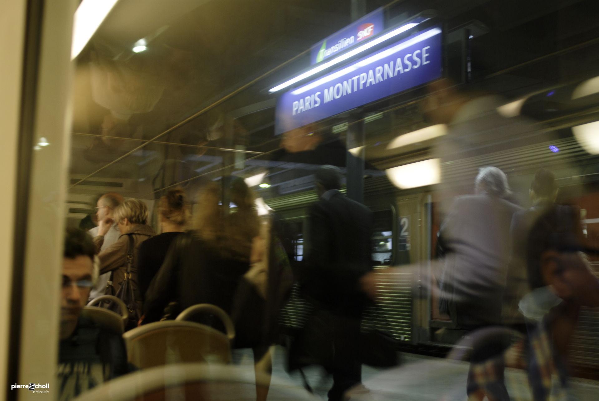 Gare de Montparnasse, Paris, France.